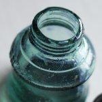 画像16: ヴィンテージガラス瓶インクボトルAngel・ENZERU|昭和戦前ガラスボトル (16)