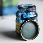 画像12: USAヴィンテージガラスインクボトル2oz|sheaffer skrip ink bottleガラス瓶RC-35 (12)