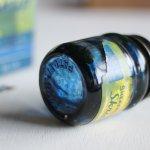 画像7: USAヴィンテージガラスインクボトル2oz|sheaffer skrip ink bottleガラス瓶RC-35 (7)