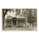 画像2: USAヴィンテージアイオワ州ジェファーソン公共図書館写真ポストカード|アンティーク紙もの (2)