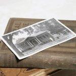 画像6: USAヴィンテージアイオワ州ジェファーソン公共図書館写真ポストカード|アンティーク紙もの (6)