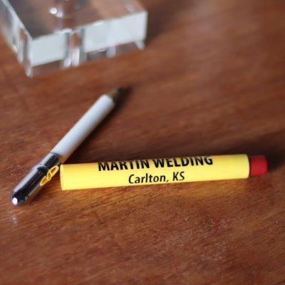 画像3: バレットペンシル弾丸型アドバタイジング鉛筆|USAアメリカン雑貨MARTIN WELDING Kansas