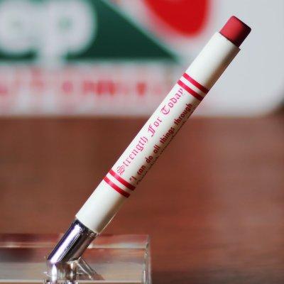 画像1: バレットペンシル弾丸型アドバタイジング鉛筆|USAアメリカン雑貨Strength for today聖書・ピリピ4章13節