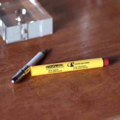 画像3: バレットペンシル弾丸型アドバタイジング鉛筆|USAアメリカン雑貨GODWIN・LESTER BUILDINGS