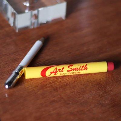 画像3: バレットペンシル弾丸型アドバタイジング鉛筆 USAアメリカン雑貨Art Smith AUCTIONEERS