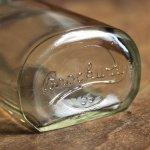 画像4: USAヴィンテージBrockway Suni-Glasメディスンボトル|アンティークガラス (4)