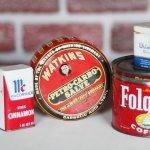 画像12: USAヴィンテージティン缶アドバタイジング|WATKINS PETRO-CARBO-SALVE薬 (12)