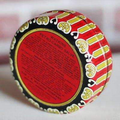 画像3: USAヴィンテージティン缶アドバタイジング|WATKINS PETRO-CARBO-SALVE薬