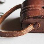 画像7: ヴィンテージ革ケース|アンティークオペラグラス双眼鏡小物入れ (7)