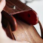 画像12: ヴィンテージ革ケース|アンティークオペラグラス双眼鏡小物入れ (12)