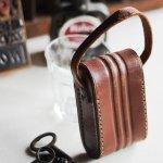 画像4: ヴィンテージ革ケース|アンティークオペラグラス双眼鏡小物入れ (4)