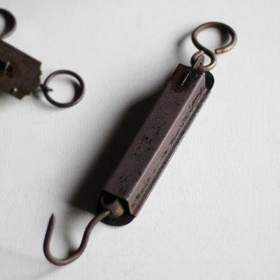 画像2: USAヴィンテージハンギングスケール|量りポケットバランスHanson Scale Co. Viking Jr. Hanging Scale No.8905