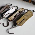画像13: USAヴィンテージハンギングスケール25LB|真鍮量りポケットバランスJOHN CHATILLON & SONS (13)