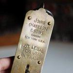 画像7: USAヴィンテージハンギングスケール25LB|真鍮量りポケットバランスJOHN CHATILLON & SONS (7)