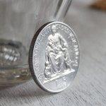 画像4: ヴィンテージ1949年アルミ製ヴァチカン市国ピウス12世(ピオ12世)バチカン5リラ|コインメダル硬貨 (4)