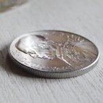 画像5: ヴィンテージ1949年アルミ製ヴァチカン市国ピウス12世(ピオ12世)バチカン5リラ|コインメダル硬貨 (5)