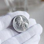 画像6: ヴィンテージ1949年アルミ製ヴァチカン市国ピウス12世(ピオ12世)バチカン5リラ|コインメダル硬貨 (6)
