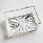 画像3: アメリカヴィンテージカットグラスガラストレイ|アンティーク小物入れ小皿 (3)
