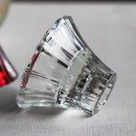 画像3: アメリカヴィンテージHOMCOクリアガラスキャンドルスタンドホルダー|アンティークグラス (3)