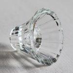 画像4: アメリカヴィンテージHOMCOクリアガラスキャンドルスタンドホルダー|アンティークグラス (4)