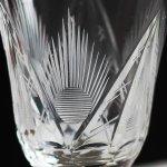 画像2: アメリカヴィンテージクリアカットガラスショットグラス|アンティークエッチング切子 (2)