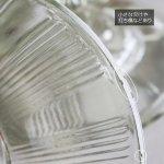 画像14: ヴィンテージガラスの小物入れキャンディポットアクセサリーケース|S.G.F.戦前アンティーク硝子容器昭和レトロ (14)