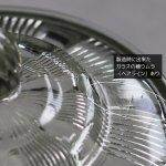 画像8: ヴィンテージガラスの小物入れキャンディポットアクセサリーケース|S.G.F.戦前アンティーク硝子容器昭和レトロ (8)