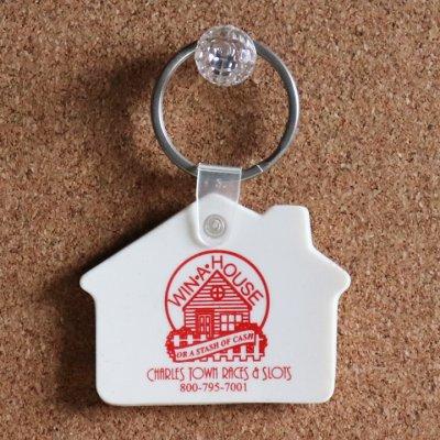画像3: USAアドバタイジングUSEDキーホルダーチャールズタウンレースハリウッドカジノ アメリカン雑貨WIN A HOUSE