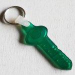 画像2: USAアドバタイジングUSEDキーホルダーメロンバンク銀行|ヴィンテージアメリカン雑貨鍵 (2)