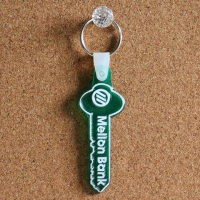 画像3: USAアドバタイジングUSEDキーホルダーメロンバンク銀行|ヴィンテージアメリカン雑貨鍵