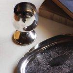 画像7: スペインヴィンテージシルバープレートカップワイングラスゴブレット|アンティーク銀食器銀メッキ (7)