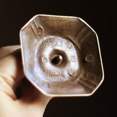 画像3: ITALYイタリアヴィンテージブラスキャンドルスナッファー用スタンド真鍮製蝋燭火消し|アンティーク