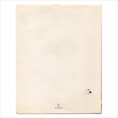 画像3: USAヴィンテージ1950年代紙ものクリスマスカード|ポインセチア・もみの木・窓辺cheerioアンティークカード
