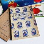 1940年代USAヴィンテージCORONADO社製冷蔵庫の取扱説明書&レシピブック|アンティーク紙もの冊子