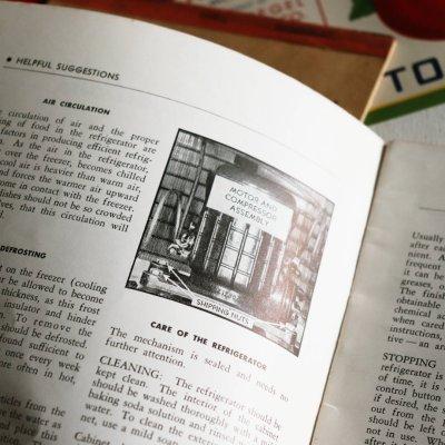 画像3: 1940年代USAヴィンテージCORONADO冷蔵庫説明書&レシピブック|アンティーク紙もの